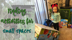 Finding Activities for Small Spaces