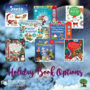 usborne books & more, christmas books, holiday books, christmas books for kids, holiday gifts for a toddler