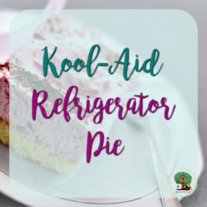 Kool-Aid Refrigerator Pie